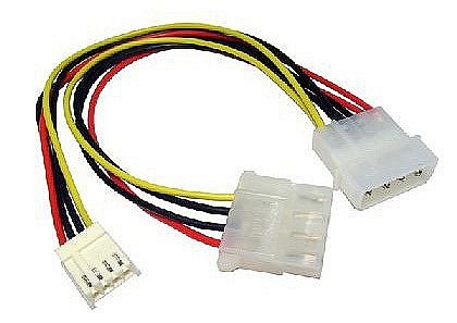 Molex Extension with Floppy Power